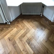 foto visgraat vloer
